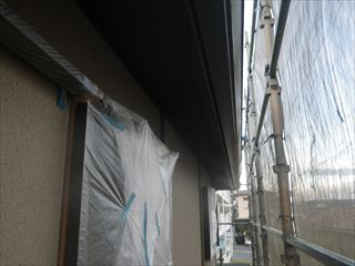 軒などの塗り替え箇所