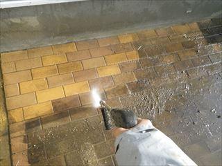 インターロッキング洗浄