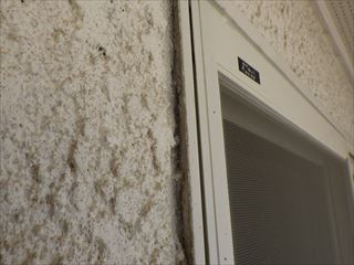 サッシと外壁の隙間