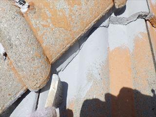 屋根の下塗り刷毛
