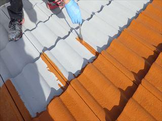 屋根上塗り刷毛