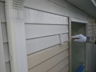 金属壁の下塗り