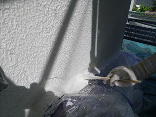 外壁塗装上塗り刷毛