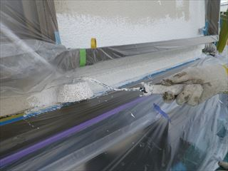 外壁塗装下塗り
