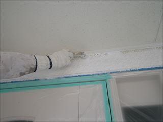 外壁下塗り刷毛
