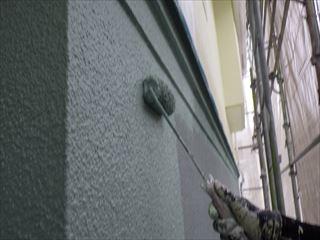 1階が家H機ガイナ上塗り2回目