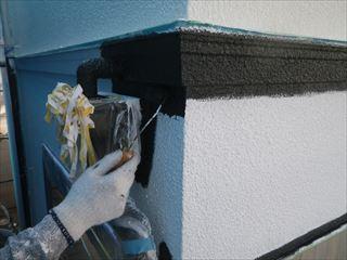 1階外壁中塗り塗装