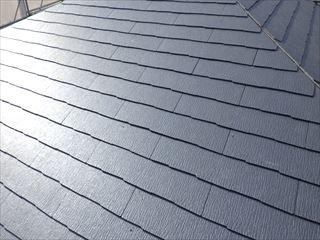 大屋根カラーベスト葺き