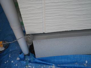 基礎水切りの上塗り2回目
