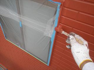 外壁上塗り刷毛