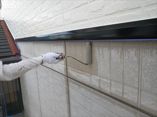 1階外壁下塗り