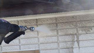 ALC外壁の高圧洗浄
