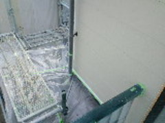 兵庫県神戸市外壁塗り替え屋根工事  2階から