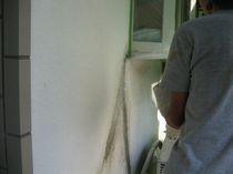 外壁補修吹きつけ