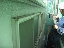 外壁高圧洗浄1
